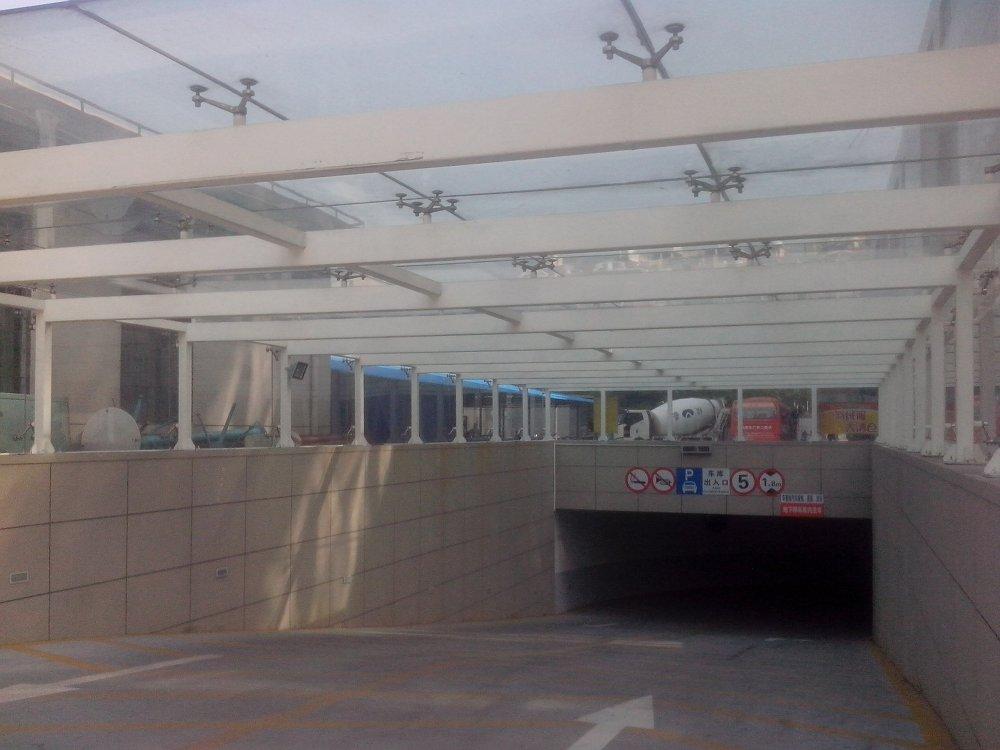 钢结构玻璃屋顶--上海钢结构